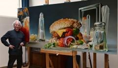 Реализм 21-го века: гамбургеры и картофель фри как искусство