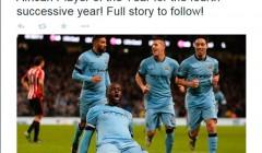 Яя Туре из Манчестер Сити назван лучшим футболистом Африки