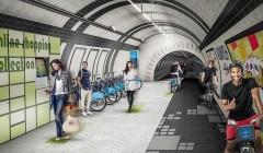 В лондонском метро могут появиться велодорожки