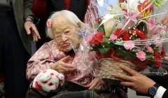 В Япония старейшая жительница Земли празднует свое 117-летие