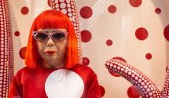 Самый популярный художник прошлого года – 86-летняя японка Яёи Кусама
