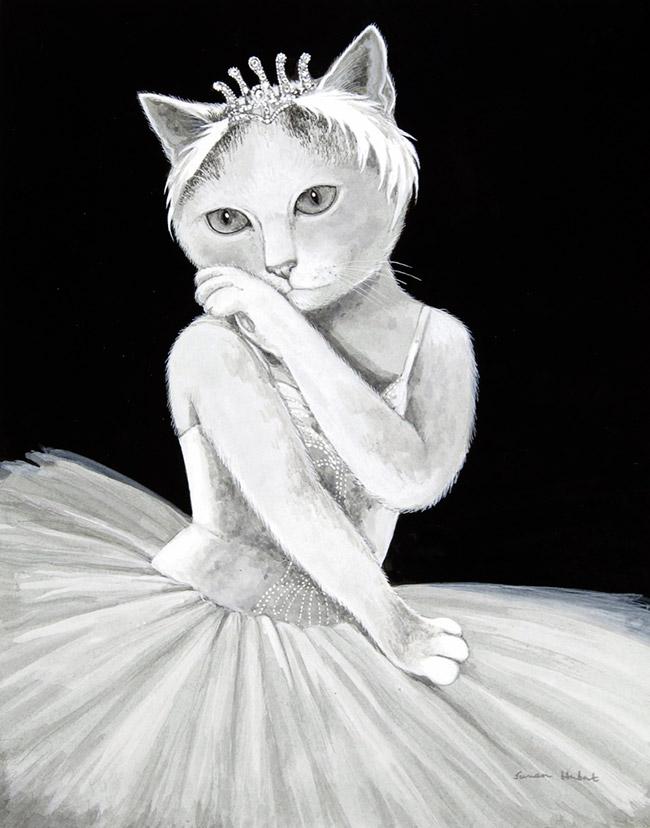Балетные кошки