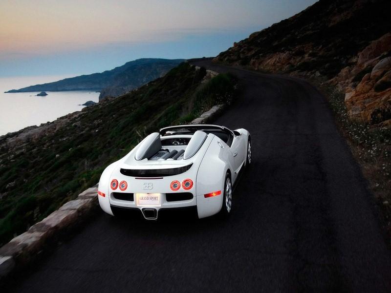 Bugatti Veyron 16.4 Gran Sport на трассе