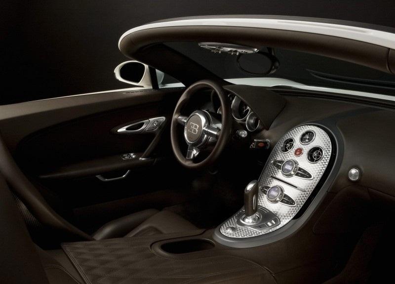 Динамика Bugatti Veyron 16.4 Grand Sport