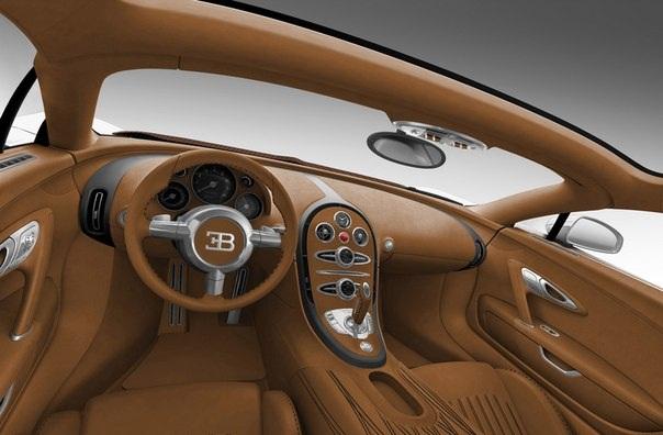 Bugatti Veyron 16.4 Grand Sport  салон