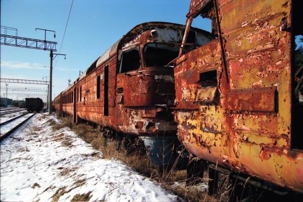 Поезда в Припяти