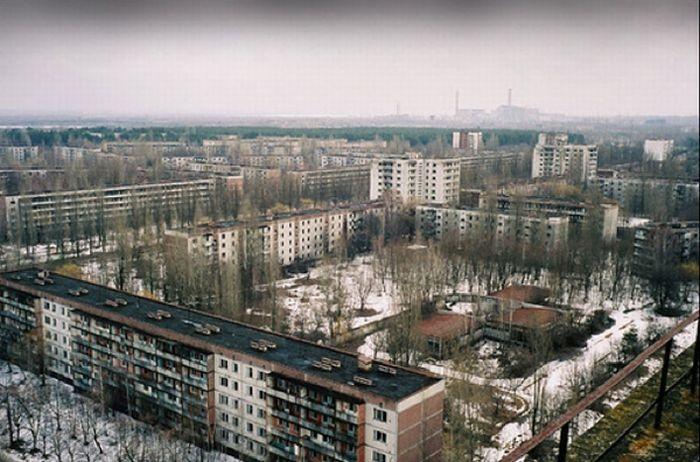 Украина. Город Припять