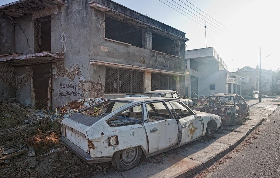 До этого Вароша была современной туристической областью.