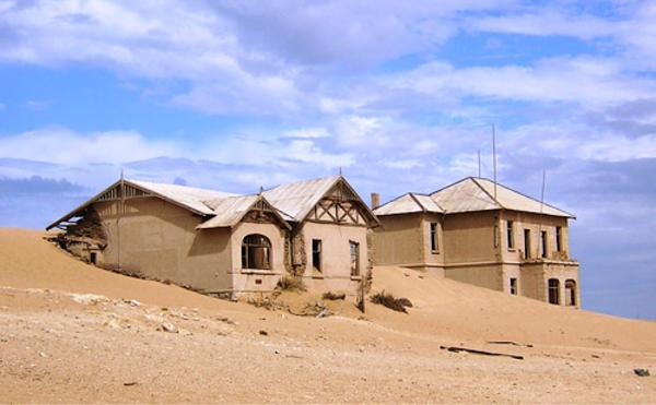Намибия. Город Колманскоп