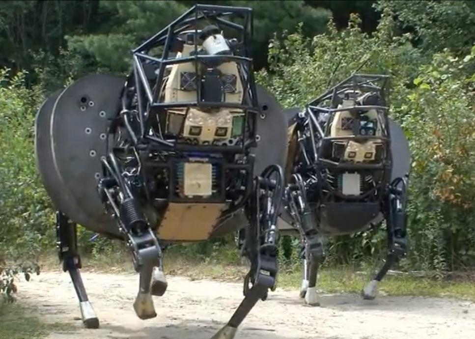 робот-бык от Boston Dynamics