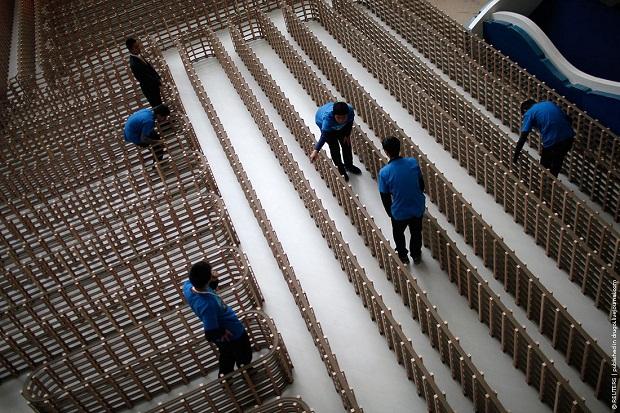 екорд шанхайских умельцев был официально признан и занесён во всем известную книгу — Книгу рекордов Гиннесса.