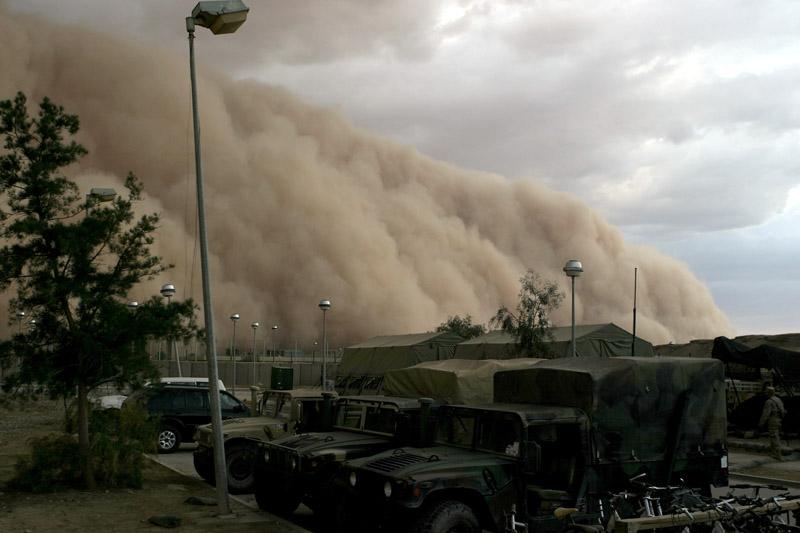 Песчаные или пыльные бури