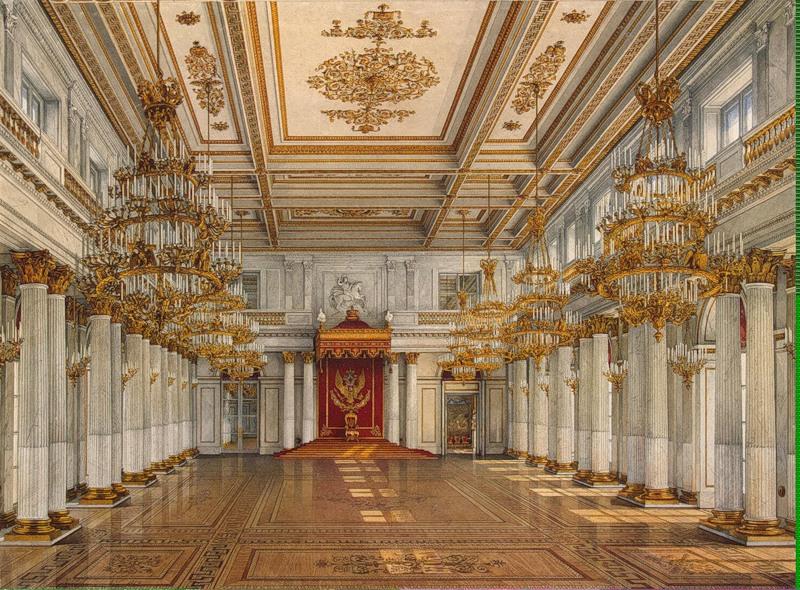 После 1904 года Николай II приказал перенести резиденцию в Царское Село в Александровский дворец.