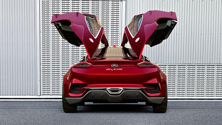 Концепт-кар от фирмы Форд - Ford Evos