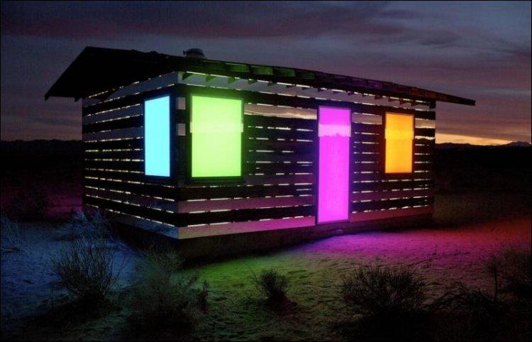 установлены светодиоды разных цветов