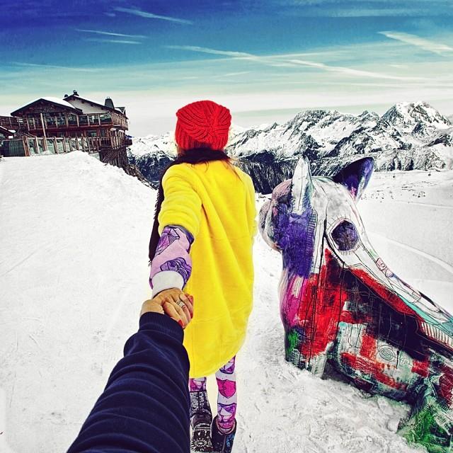 Следуй за мной в Альпах