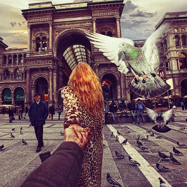 Сделуй за мной в Милане