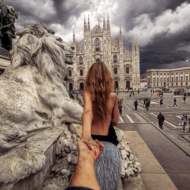 Новая фотография Натальи и Мурада из Милана