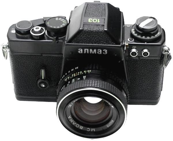 Алмаз - профессиональный зеркальный фотоаппарат для журналистов