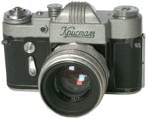 Однообъективный зеркальный фотоаппарат Кристалл