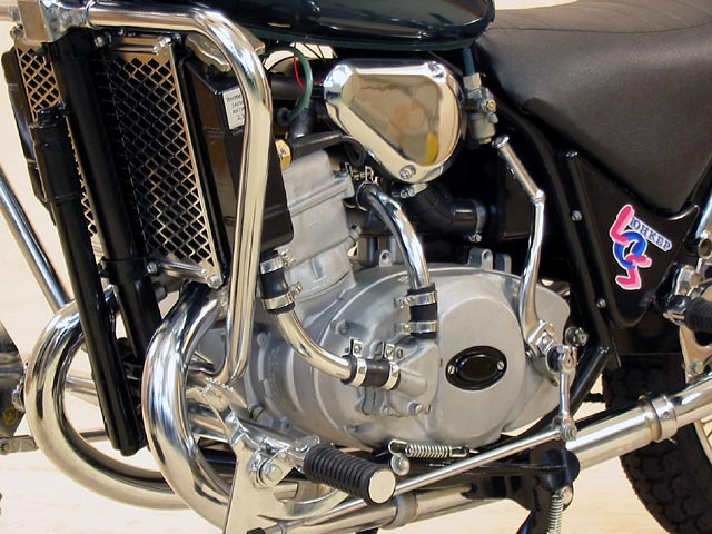 «Юнкер» — оснащён двухтактным двухцилиндровым двигателем