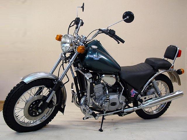 Дорожный мотоцикл «Юнкер»
