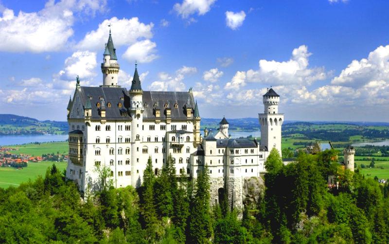 Замок в Германии