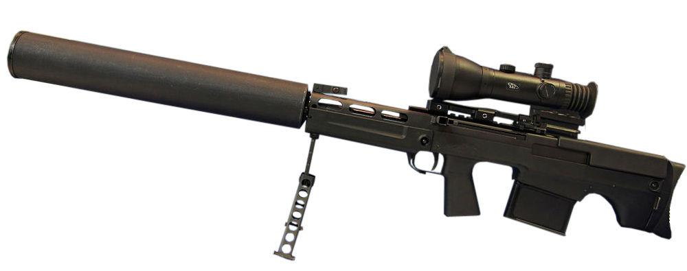 выхлоп снайперская винтовка