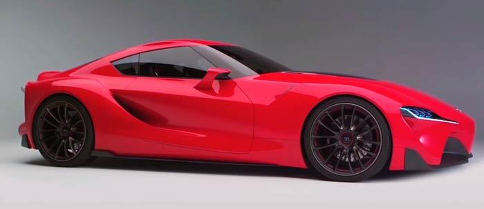 Концепция Toyota Supra былапродемонстрирована в Детройте