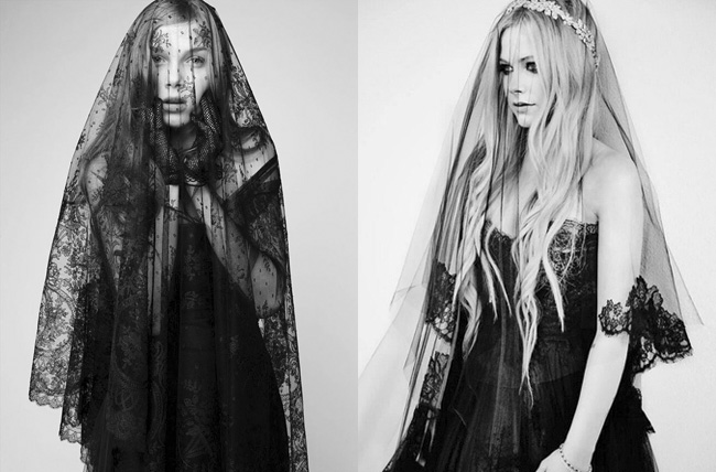 Черные свадебные платья. Новый тренд