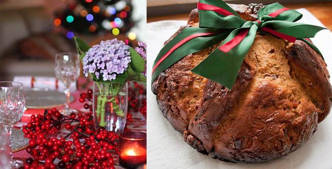 Самая, если можно так сказать, «религиозная» рождественская выпечка из нашего списка, потому что верхнюю часть греческого рождественского хлеба украшает крест.