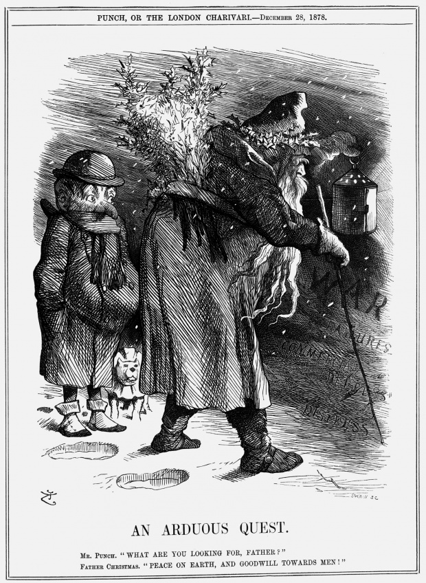 Обложка журнала Punch 19 век