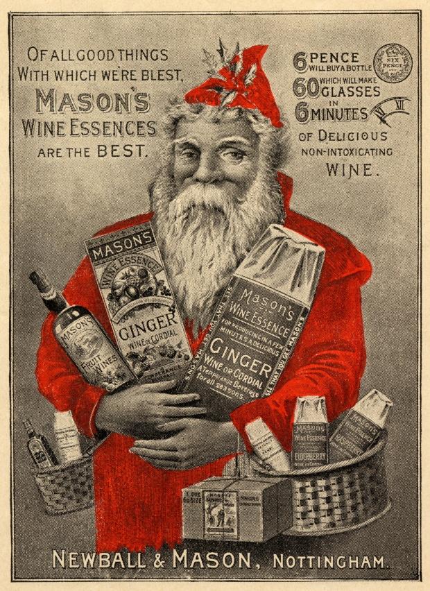 Дебют Санта Клауса в рекламе