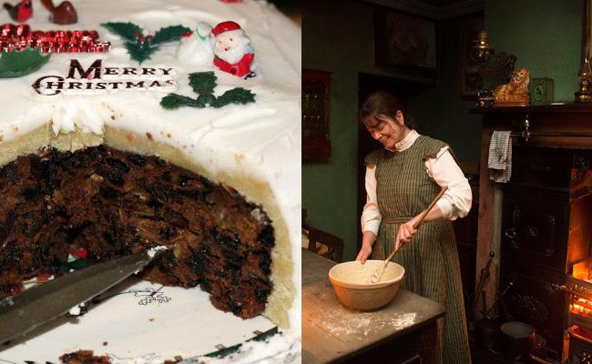 Рождественский пирог в Объединенном Королевстве берет свое начало от традиционной английской овсянки, которую подавали со сливами в канун Рождества