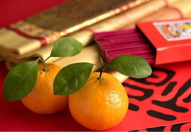 Новогодние мандарины. Китайская история.