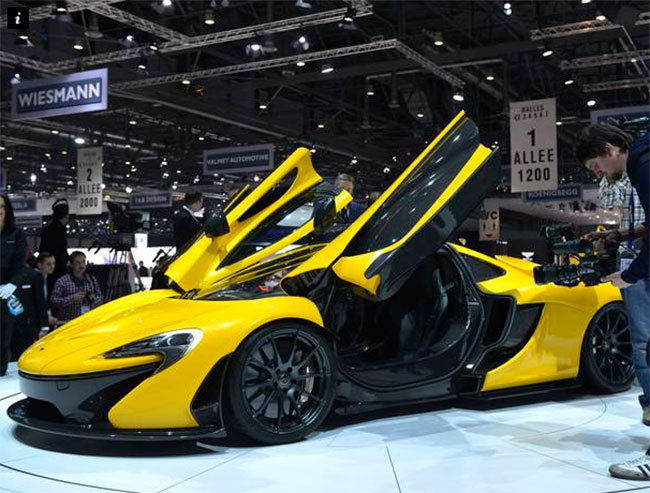 Легендарный автопроизводитель запускает производство нового McLaren P1 GTR