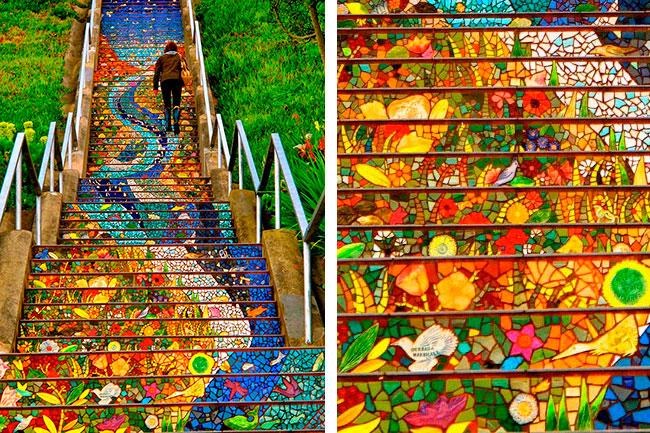 Во всех уголках мира уличные художники превращают ступеньки в настоящие произведения искусства, делая некогда незаметные улицы и проулки туристическими достопримечательностями.