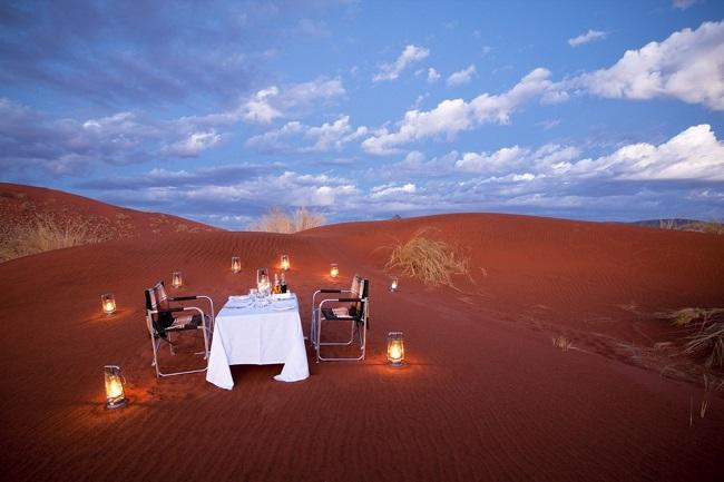 Ресторан в дюнах