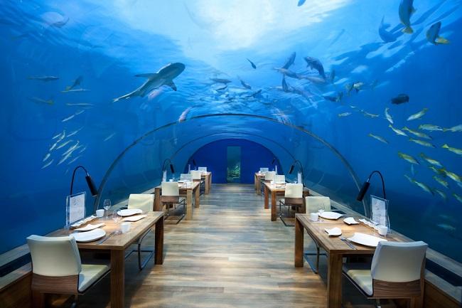Ресторан на дне морском.