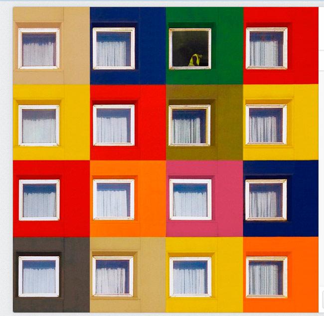 Интересный Стамбул: цвет и минимализм архитектуры в фотографиях Yener Torun
