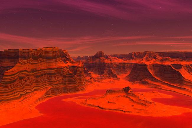 Экспедиция на Марс будет получать энергию с помощью углекислого газа