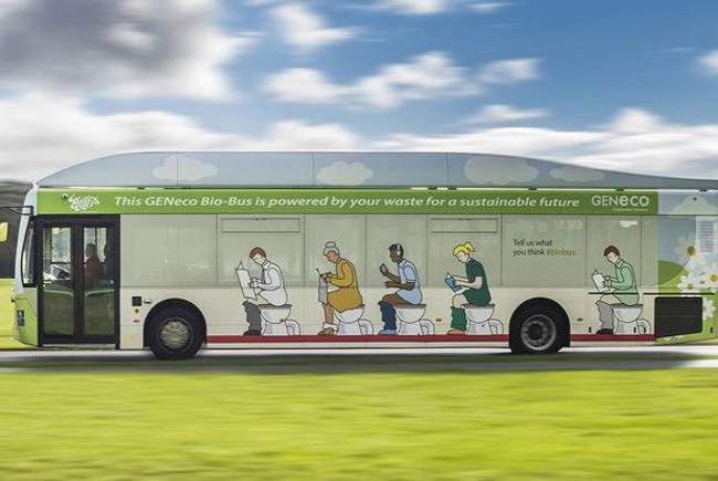 Автобус «на отходах» начинает курсировать в Бристоле