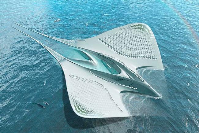 Город будущего от французского архитектора Жакома Ружери