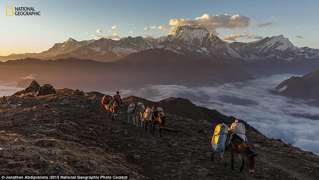 Фотограф Джонатан Абдипраното пишет: «Непал особое место для меня по ряду причин, и мне посчастливилось вернуться в эту страну