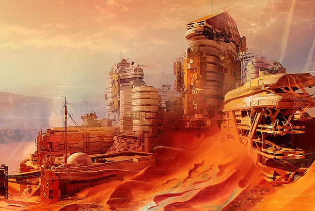 Дома для Марса напечатают на 3D-принтере