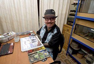 Художник-инвалид, который создаёт настоящие шедевры