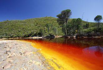 Кислотная река Рио-Тинто