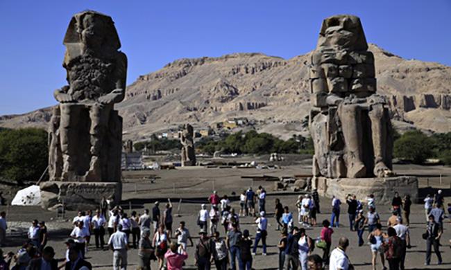 Статуя фараона Аменхотепа III отреставрирована спустя 3200 лет