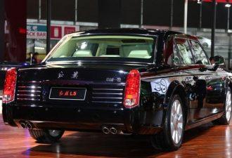 Самый дорогой китайский автомобиль The Hongqi L5