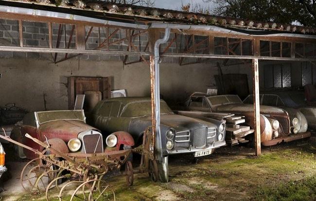 Эта коллекция была найдена в заброшенном поместье Роже Бейлонна